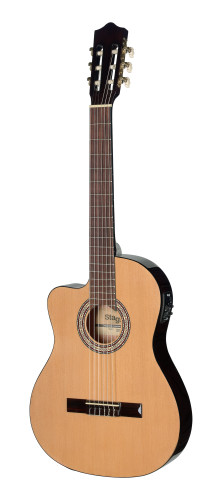 Electro-Acoustic Classical guitar with Cutaway & 4-band
