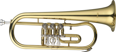 B Flügelhorn mit Drehventilen
