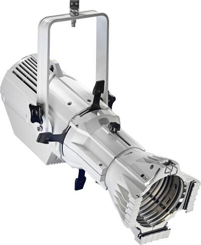Projecteur découpe de 200 watts, lumière chaude, armature blanche en plastique (Fixed Lens Spot 200)