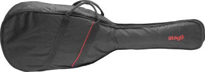 Basic series padded nylon bag for folk or western guitar