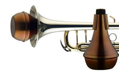 Sourdine droite vintage pour trompette