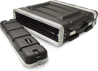 ABS-koffer voor 2U rack