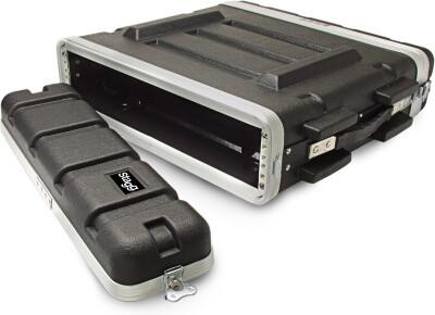 ABS Koffer für 2 HE Rack