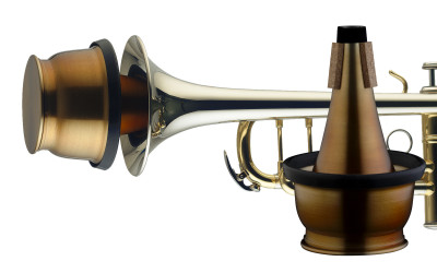 Vintage cup mute for trumpet