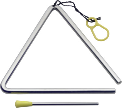 "8"" Triangle with beater"