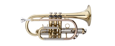Bb Cornet, Monel, Brass body material