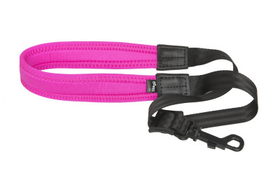 Fully-adjustable Easy saxophone strap with soft neck padding, magenta