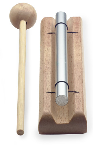 Table chime, one note (C), with mallet