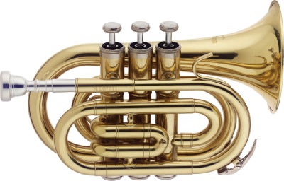 Bb Pocket Trumpet, w/ABS case