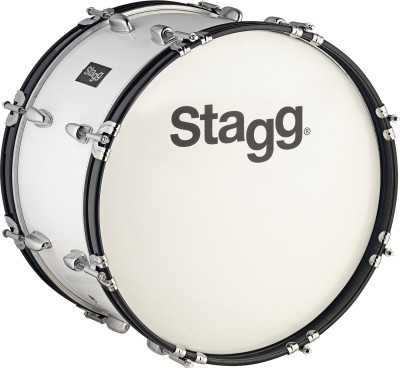 "24"" x 10"" Marching Bass-Drum mit Gurt & Schlegel"