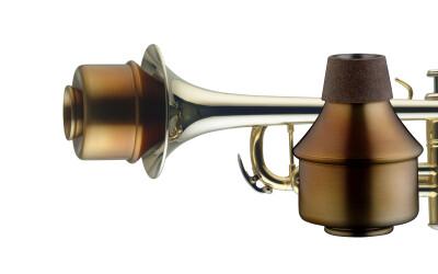 Vintage wahmute voor trompet