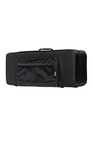 Soft case for tenor saxophone, black