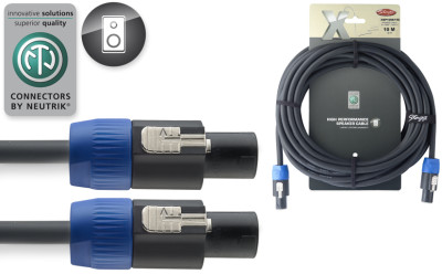 X-Series Professional Speaker Cable - SpeakON / Speak