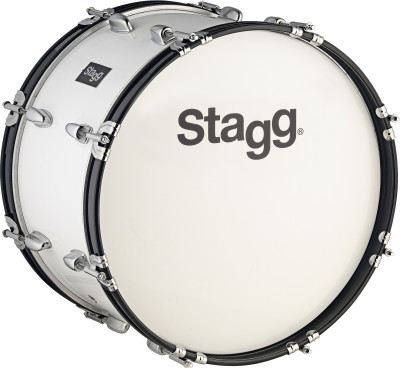 "26"" x 10"" Marching Bass-Drum mit Gurt & Schlegel"