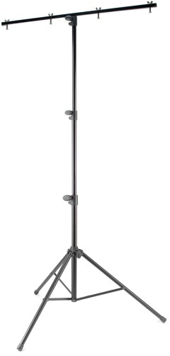 Single tier lighting stand, medium heavy