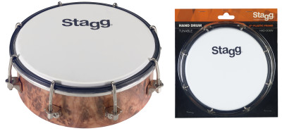 "6"" Tunable plastic hand-drum"