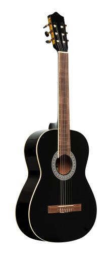 Guitare classique SCL60 avec table en épicéa, noire