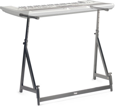 Adjustable mixer/keyboard stand