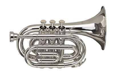 Bb pocket trumpet with regular regular Bb trumpet bell