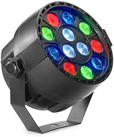 ECOPAR XS spotlight with 12 x 1-watt R/G/B/W LED