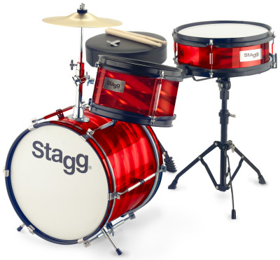 "3-teiliges Junior Drumset mit Hardware, 8"" / 10"" / 12"""