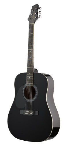 Acoustic Dreadnought Guitar with basswood top