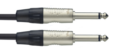 N-Series Coiled Instrument Cable - Phone Plug / Phone Plug