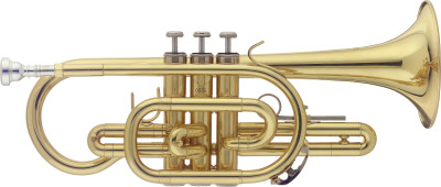 Bb Cornet, in ABS case