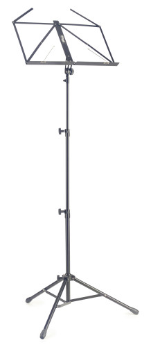 Lyra collapsible tubular music stand, 3 sections, with bag