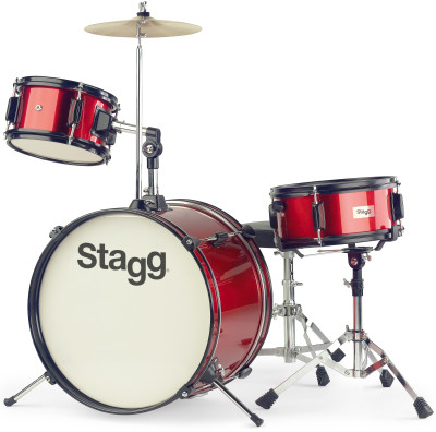 3-piecec Junior 16 drum set with hardware