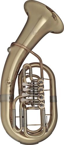 Bb Euphonium, 4 rotary valves