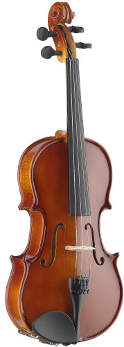 1/8 solid maple violin with soft case