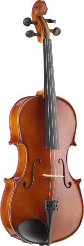 "16"" solid maple viola with standard-shaped soft case"