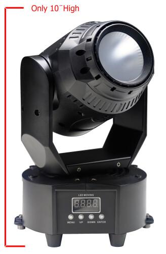 Projecteur lyre avec COB LED de 60 watts (Cyclops 60)