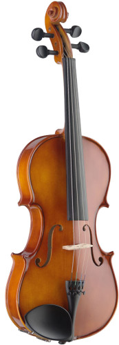 "15"" solid maple viola with standard-shaped soft case"