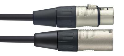 N-Serie microfoonkabel, XLR/XLR (m/v), 1 m