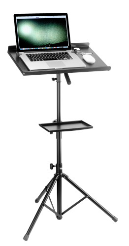 Laptop stand with extra table