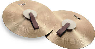 "18"" Marching/Concert cymbals - Pair"