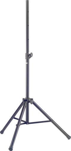 Robustes Stahl Lautsprecherstativ mit einklappbaren Beinen