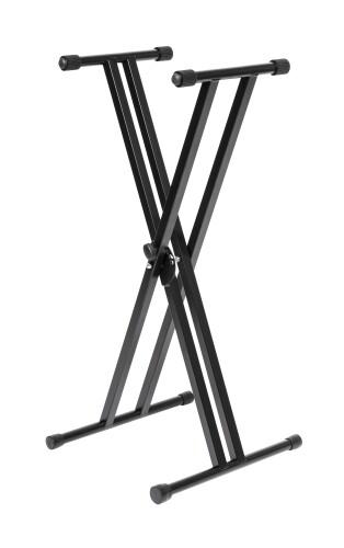 Doppelstrebiger X-Ständer f. Keyboard - max. Tragkraft: 50 kg