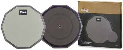 "8"" desktop practice pad, ten-sided shape"