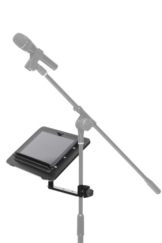 368Multipurpose plate with arm, to mount on a stand