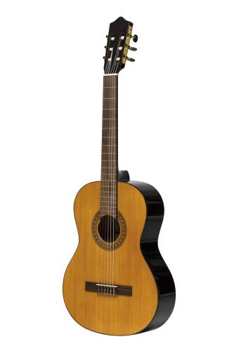 Guitare classique SCL60 avec table en épicéa, de couleur naturelle, modèle gaucher