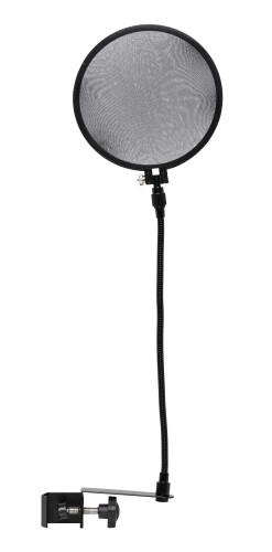 Popfilter voor studiocondensatormicrofoons; volledig instelbare ophanging