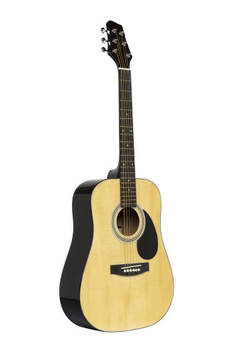 Acoustic Dreadnought Guitar with basswood top, 3/4 model