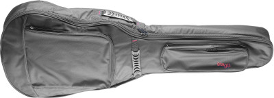 General series water repellent padded nylon bag for western / dreadnought acoustic guitar