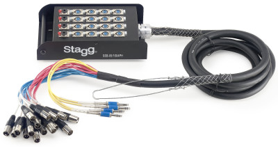 S-Series Stagebox - 16x XLR F Inputs/ 4x Stereo Jack Outputs