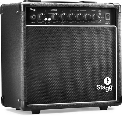 15 W Guitar Amplifier with digital reverb