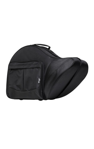 Soft case for french horn, black