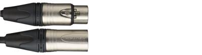 Câble de microphone XLR/XLR (m/f), 3 m